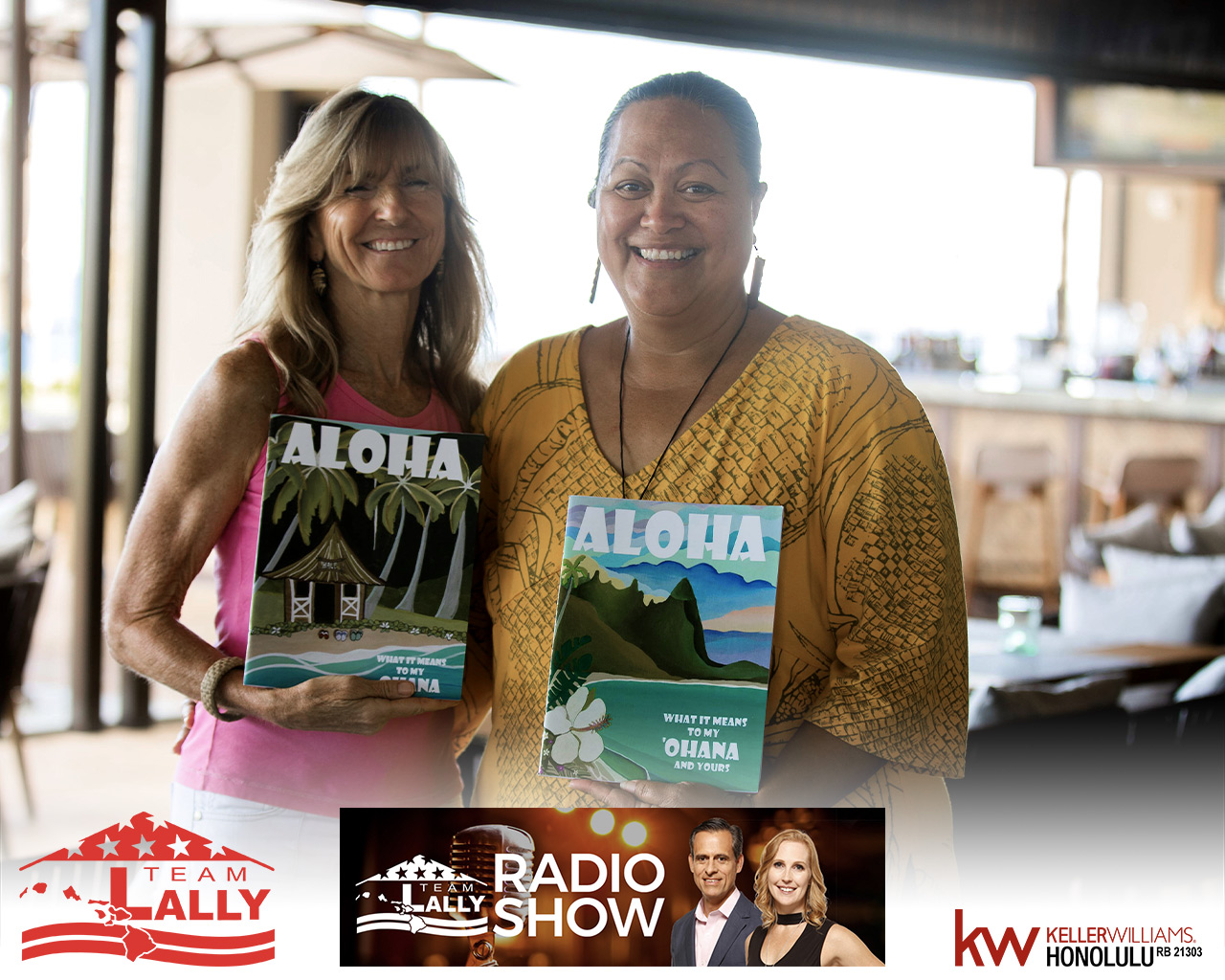 The Aloha Movement with Lahela Chandler Correa & Ann Hettinger