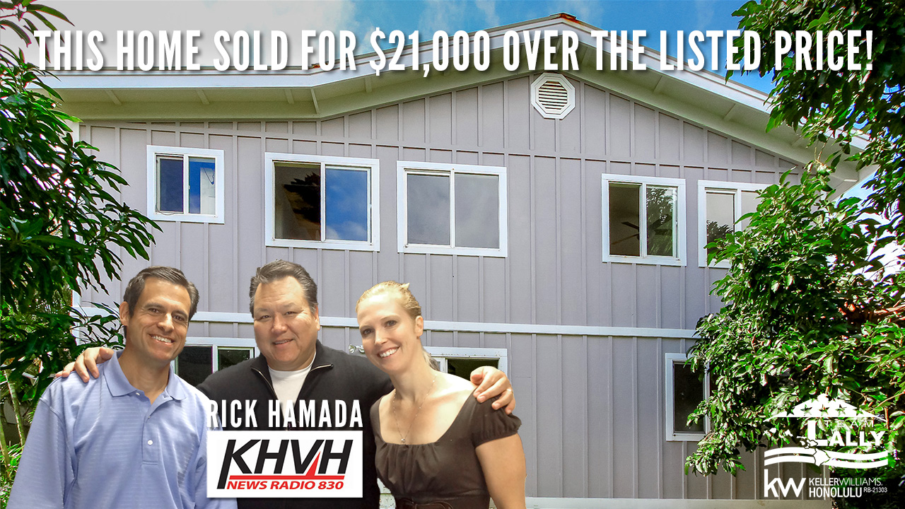 Success Stories With Rick Hamada: Krista's Home Sells $21k Over List Price