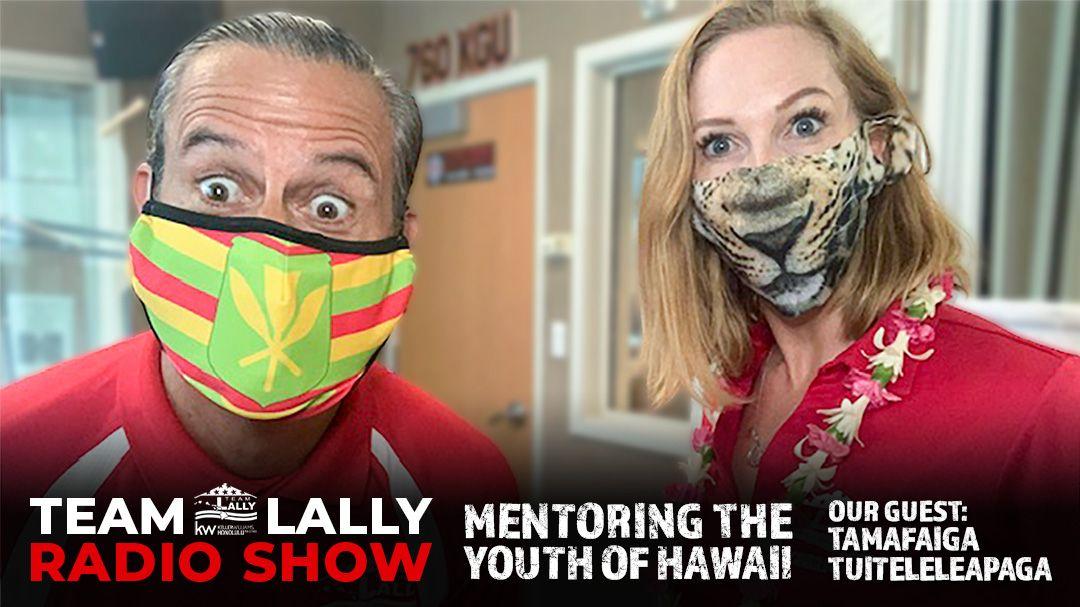 Mentoring the Youth of Hawaii with Tamafaiga Tuiteleleapaga